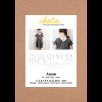 Patron robe ANNA KID 3-12 ANS