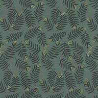 Viscose Rameaux coloris Smoke Green 20 x 138 cm