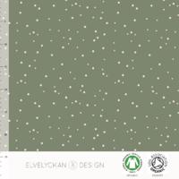 Jersey Spots Green 20 x 160 cm