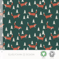 Jersey Fox coloris Evergreen 20 x 160 cm