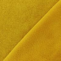 Micro éponge de bambou coloris moutarde 20 x 150 cm