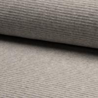 Jersey velours gris clair 20 x 150 cm
