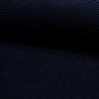Jersey velours marine 20 x 150 cm