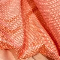 Jersey Là-haut coloris orange 20 x 140 cm