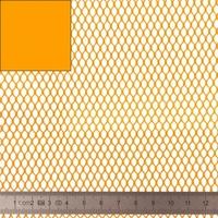 COUPON de mesh coloris orange 45 x 137 cm