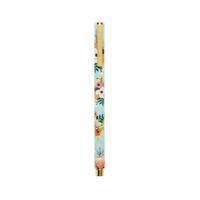 Stylo Roller métal - Lively Floral