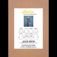 Patron robe/top ALEX femme 34 à 46