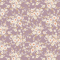 Jersey Calico Days Lavender 20 x 150 cm