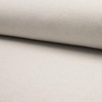 Molleton à paillettes blanc cassé et argent 20 x 140 cm