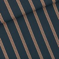 Viscose Three Lines Peach 20 x 140 cm
