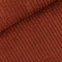 Velours côtes larges coloris brun sable 20 x 140 cm