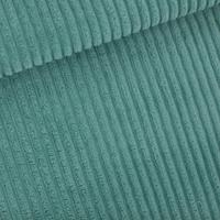 Velours côtes larges coloris bleu trellis 20 x 140 cm