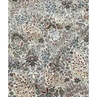 Liberty Kensington Park brun bleu rouille coloris C 20 x 137 cm
