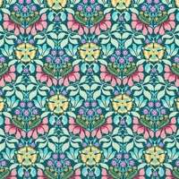 Liberty Persephone mint coloris C 20 x 137 cm
