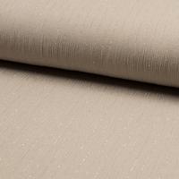 Viscose gaufrée lurex coloris sable 20 x 130 cm