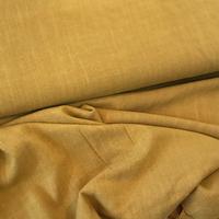 Tissu lin et viscose coloris moutarde 20 x 130 cm
