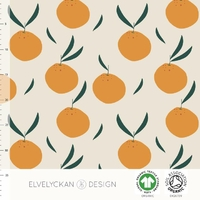 Jersey Oranges 20 x 160 cm