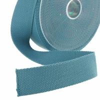 Sangle 30mm coloris bleu vert x 10cm