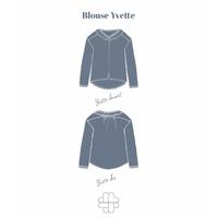 Patron blouse Yvette