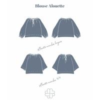 Patron blouse Alouette