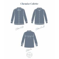 Patron chemise Colette