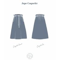 Patron jupe Coquette