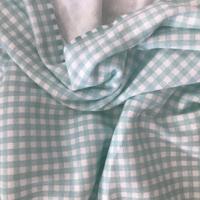 Jersey mini carreau 3mm menthe 20 x 160 cm
