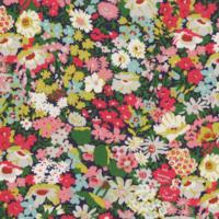 Liberty Thorpe vert et corail coloris C 20 x 137 cm