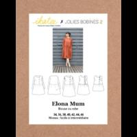 Patron robe ELONA MUM 34-46