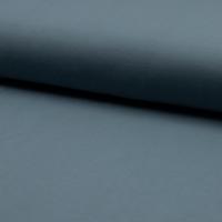 Jersey 95% coton 5% spandex dusty blue 20 x 140 cm