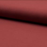 Jersey 95% coton 5% spandex rouille 20 x 140 cm