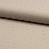 Viscose plumetis coloris sable 20 x 140 cm