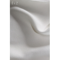 Crêpe de viscose uni nacre 20 x 145 cm