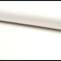 Jersey 95% coton 5% spandex blanc cassé 20 x 140 cm