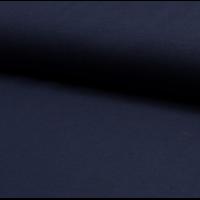 Piqué de coton coloris marine 20 x 155 cm
