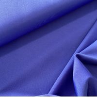 Lycra mat coloris bleu 20 x 140 cm