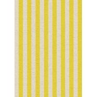 Tissu lin/coton Primavera rayé 20 x 110 cm
