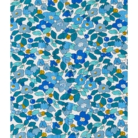Popeline Liberty Betsy Berry Collioure coloris A 20 x 145 cm