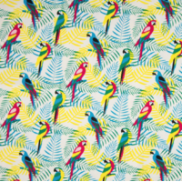 Jersey perroquet 20 x 140 cm