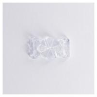 Attache transparente pour maillot de bain 15 mm