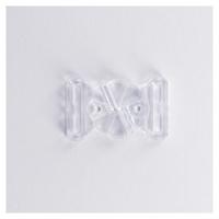 Attache transparente pour maillot de bain 20 mm