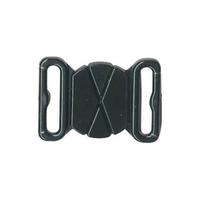 Attache noire pour maillot de bain 15 mm