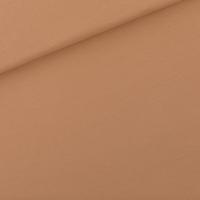 "Sweat léger ""French Terry"" uni coloris Camel brown 20 x 150 cm"