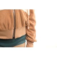 """Sweat éponge """"Terry Cloth"""" uni coloris Camel brown 20 x 150 cm"""