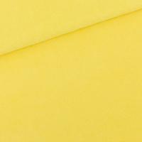 "Sweat éponge ""Terry Cloth"" uni coloris Goldfinch yellow 20 x 150 cm"