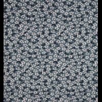 Jersey fleurs fond gris 20 x 140 cm
