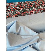 Lycra mat coloris bleu glaçon 20 x 140 cm