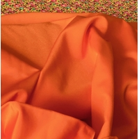 Lycra mat coloris orange 20 x 140 cm