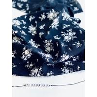Viscose Joséphine coloris Noir 20 x 140 cm
