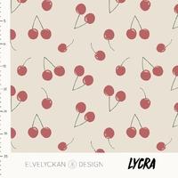 Lycra Cherries 20 x 160 cm